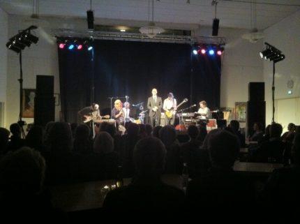 Jimmy Jørgensen i Hinnerup kulturhus. Lyd, lys og scene