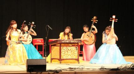Kinesisk nytårskoncert, lys og lyd