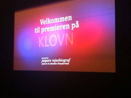 Skanderborg kulturhus, digital afvikling af forpremiere på Klovn - the movie